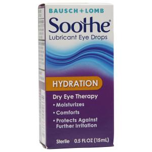 Bausch + Lomb Lubricant Eye Drops, Hydration