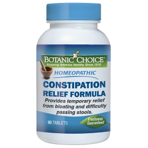 Botanic Choice Homeopathic Constipation Relief Formula, Tablets