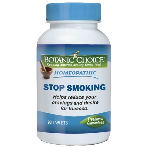 Botanic Choice Homeopathic Stop Smoking Formula, Tablets
