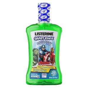 Listerine Smart Rinse , Marvel Avengers, Mint Shield Mint Shield