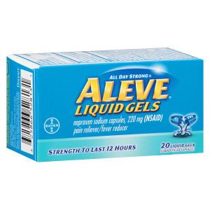 Aleve Pain Reliever/Fever Reducer Liquid Gels