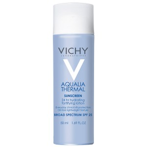 Vichy Aqualia Thermal Hydrating Fortifying Face Lotion with Sunscreen SPF 25