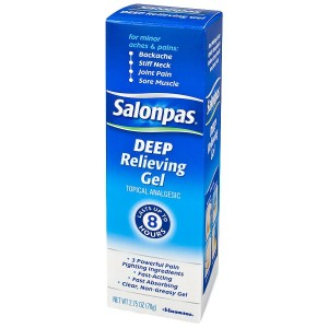 Salonpas Deep Relieving Gel Topical Analgesic