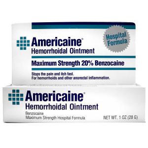 Americaine Hemorrhoidal Ointment, Maximum Strength
