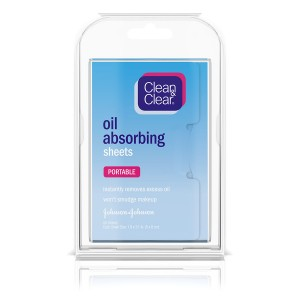 Clean & Clear Oil Absorbing Sheets