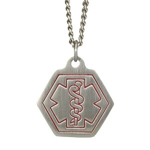 American Medical ID Classic Stainless Steel Necklace