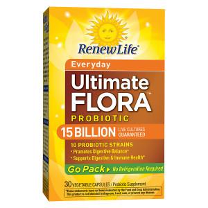 ReNew Life Ultimate Flora RTS Daily Probiotic, Veggie Capsules