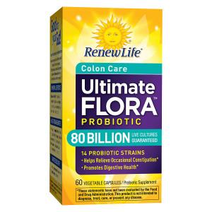 ReNew Life Ultimate Flora Critical Colon, Veggie Caps