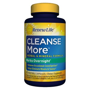 ReNew Life Cleanse More Dietary Supplement Capsules
