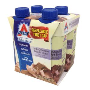 Atkins Advantage Shakes Milk Chocolate Delight