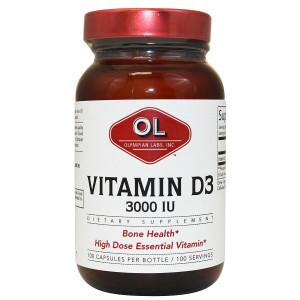 Olympian Labs Vitamin D3 3000 IU