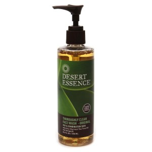 Desert Essence Thoroughly Clean Face Wash with Organic Tea Tree Oil and Awapuhi