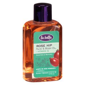 La Bella Rose Hip Oil with Vitamin E