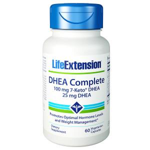 Life Extension DHEA Complete 100mg 7-KETO, Veggie Caps