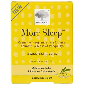 New Nordic More Sleep, Non Drowsy, Tablets