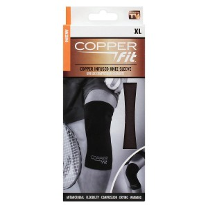 Copper Fit Copper Infused Knee Sleeve X-Large Black