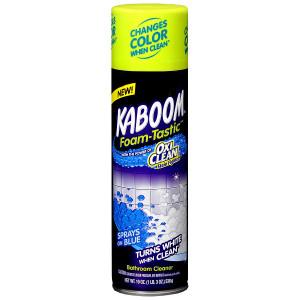 Kaboom Foam-Tastic Color Changing Bathroom Cleaner