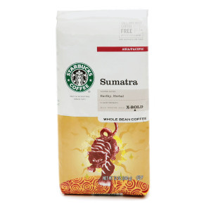 Starbucks Dark Roast, Sumatra Blend, Whole Bean
