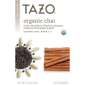 Tazo Organic Black Tea Organic Chai