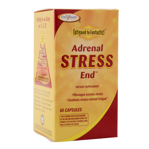 Enzymatic Therapy Fatigued to Fantastic! Adrenal Stress End, Capsules