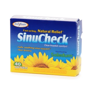 Enzymatic Therapy SinuCheck, Softgels