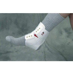 Power Wrap Ankle Brace White