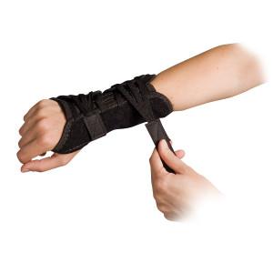 Power Wrap Wrist Brace, Left Black