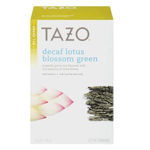 Tazo Green Tea, Decaf Lotus Blossom