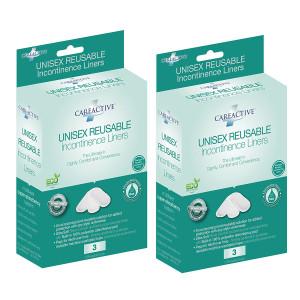 CareActive Unisex Reusable Incontinence Liners
