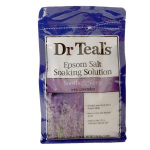 Dr. Teal's Epsom Salt Soaking Solution, Soothe & Sleep Lavender