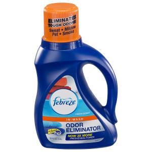 Febreze In Wash Laundry Odor Eliminator Fresh Scent