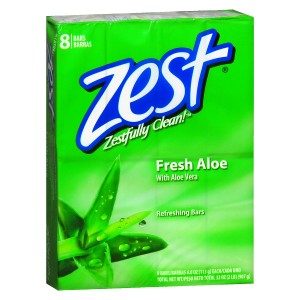 Zest Family Deodorant Bars Aloe