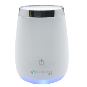 PureGuardian Ultrasonic Aromatherapy Oil Diffuser with Touch Controls White