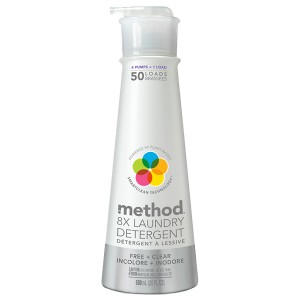 Method Laundry Detergent, 50 Loads Free + Clear