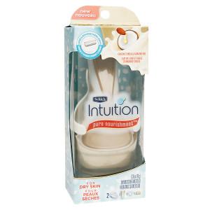 Schick Intuition Pure Nourishment with Coconut Milk & Almond Oil Razor