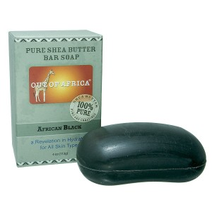 Out Of Africa Pure Shea Butter Bar Soap African Black