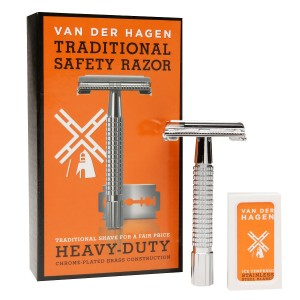 Van Der Hagen Traditional Heavy Duty Safety Razor
