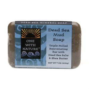 One With Nature Dead Sea Mineral Soap Sea Mud