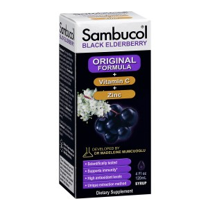 Sambucol Black Elderberry Immune System Support, Immune Formula