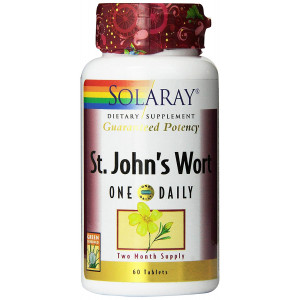 Solaray One Daily St. John's Wort Supplement, 900 mg, 60 Count