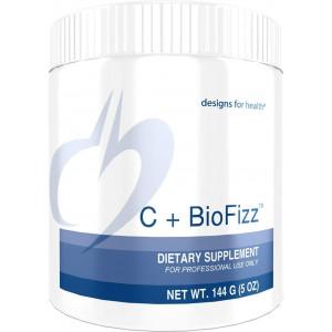 Designs for Health - C+BioFizz - High Potency Vitamin C Powder + Bioflavonoids, 144 Grams