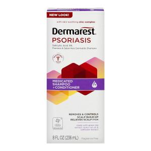 Dermarest Psoriasis Medicated Shampoo plus Conditioner | 8-Ounces | 1-Unit