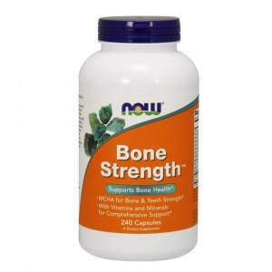NOW Bone Strength,240 Capsules