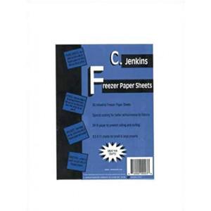 """C. Jenkins 50 Industrial Freezer Paper Sheets 8.5"""" x 11"""""""