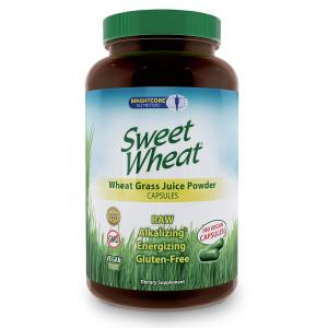 Sweet Wheat Organic Wheat Grass Juice Powder, 180 Caps
