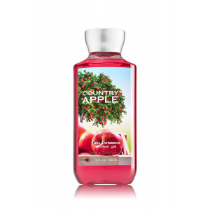 Bath and Body Works Country Apple Shower Gel 10 Ounce Bottle
