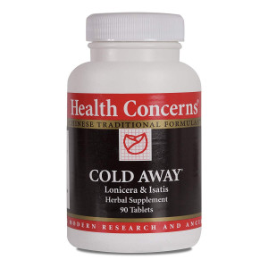 Health Concerns - Cold Away - Lonicera and Isatis Herbal Supplement - 90 Tablets