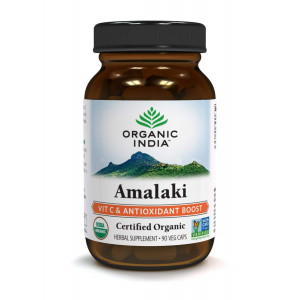 Organic India Amalaki - Vitamin C for Immune System (90 Veg Capsules)
