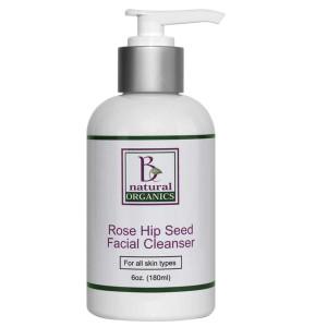 Be Natural Organics Rose Hip Seed Facial Cleanser 6 Oz (180 ml)