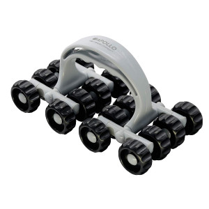Apollo Roller Massage Tool by Body Back Company - Full Contact Muscle Roller, Arm, Leg, Calf and Neck Massager for Trigger Point Release, Deep Tissue Relaxation, Handheld Foot Care, Stress and Pain Relief